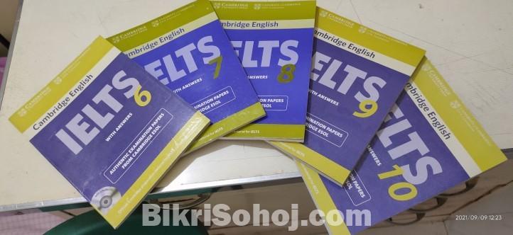 Cambridge IELTS Books (6 - 10)