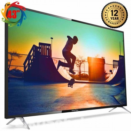 SONY PLUS 43 Inch SMART ANDROID FULL HD 4K SUPPORTED LED TV