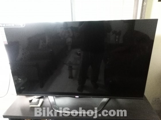 LG 55 inch 3D SMART TV model 55LA6910 (slightly used)