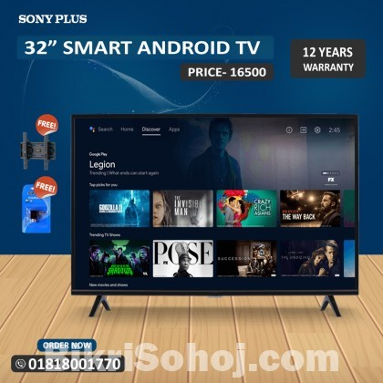 Sony Plus 40 SMART ANDROID FULL HD 4K SUPPORTED LED TV