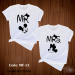 Couple T-shirt for Valentine - MF 2 pc