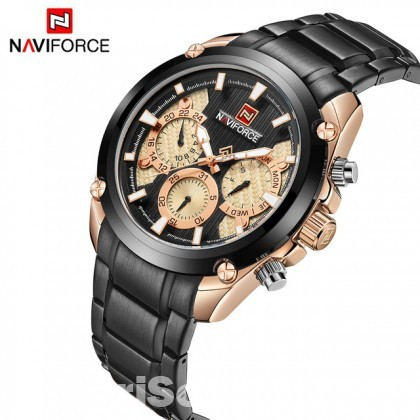 NAVIFORCE Quartz Stainless Steel  For Men's-NF9113M