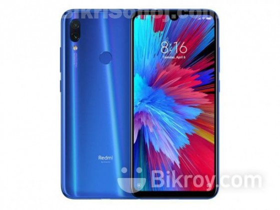 Xiaomi Redmi Note 7 4gb ram, 64gb rom (New)
