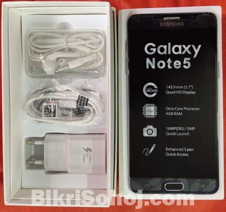 Samsung Galaxy note 5 (New)