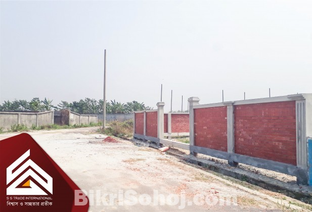 North Facing 5 Katha Plot Sale Near 300ft in RAJUK Purbachal