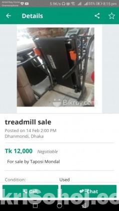 Treadmill mannual