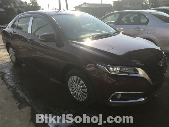 TOYOTA ALLION G PLUS RED WINE 2016