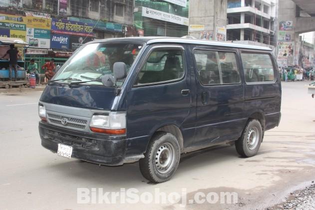 Toyota Hi Ace Micro Bus (2003) Full Running